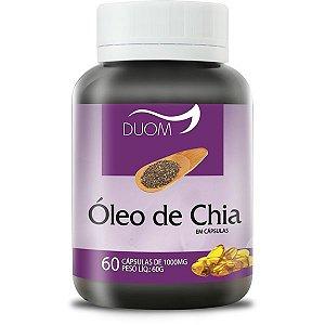 OLEO DE CHIA 60 CÁPSULAS 1000mg DUOM