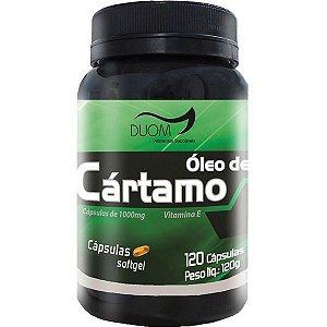 OLEO DE CARTAMO 1000mg 120 CÁPSULAS DUOM