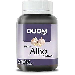 OLEO DE ALHO 500MG 60 CÁPSULAS DUOM