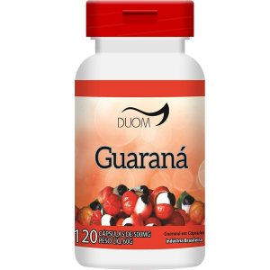 GUARANA 500mg 120 CÁPSULAS DUOM