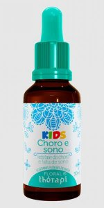 FLORAL THERAPI KIDS CHORO E SONO 30ML