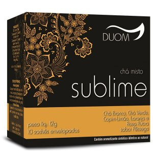 CHA MISTO SUBLIME 10 SACHES 12G DUOM