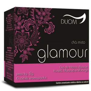 CHA MISTO GLAMOUR 10 SACHES 12G DUOM