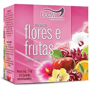 CHA MISTO FLORES E FRUTAS 10 SACHES DUOM