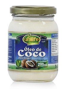 ÓLEO DE COCO  200 ML - UNILIFE