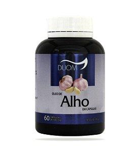 Óleo de Alho – 500mg - 60 Cápsulas - Duom