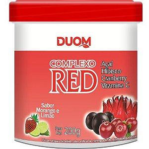 COMPLEXO RED 200G DUOM SABOR MORANGO E LIMÃO