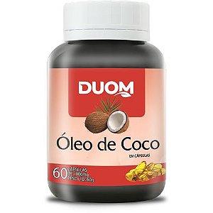 ÓLEO DE COCO 1000MG 60 CÁPSULAS DUOM