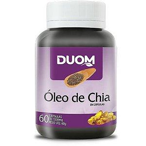 ÓLEO DE CHIA 60 CÁPSULAS 1000MG DUOM