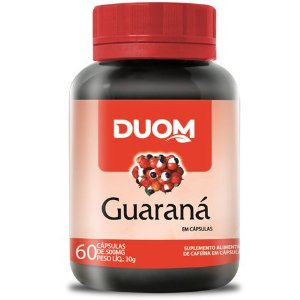 GUARANÁ 60 CÁPSULAS 500MG DUOM