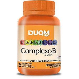 COMPLEXO B 60 CÁPSULAS 500MG DUOM
