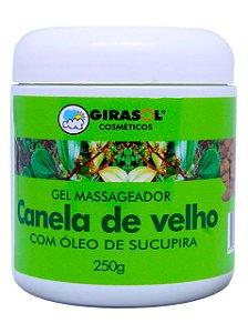 GEL CANELA DE VELHO COM ÓLEO DE SUCUPIRA 250G GIRASOL