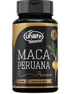 MACA PERUANA PREMIUM 60 CÁPSULAS UNILIFE