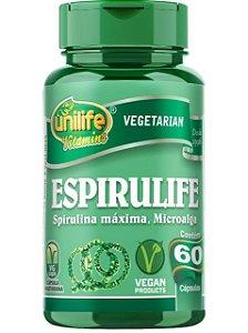 ESPIRULIFE SPIRULINA 60 CÁPSULAS UNILIFE