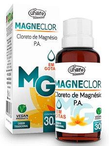 CLORETO DE MAGNÉSIO EM GOTAS MAGNECLOR 30ML UNILIFE