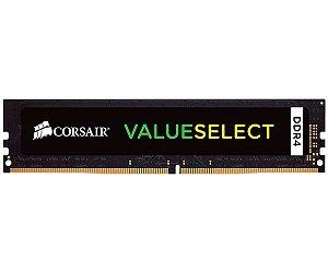 Memória Corsair Value Select DDR4 Black 4GB 2133Mhz CMV4GX4M1A2133C15