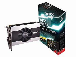 Placa de Vídeo VGA XFX R7 250X 2GB DDR3 128 Bits PCI-Express R7-250X-CGF4