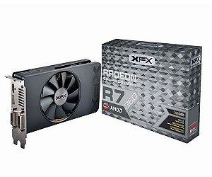 Placa de Vídeo VGA XFX R7 360 2GB DDR5 1050MHZ AMD Radeon R7-360P-2SF5