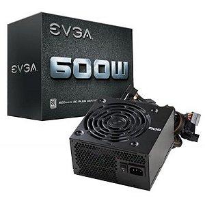Fonte EVGA 600W 80 Plus 80 Plus White 100-W1-0600-KO