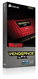 Memória Corsair Vengeance LPX DDR4 16gb(4x4GB) 2666Mhz CMK16GX4M4A2666C15R