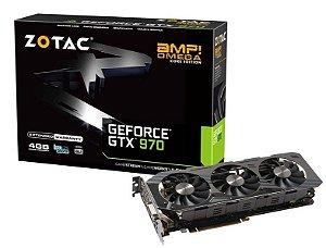 VGA Zotac GeForce GTX 970 AMP! Omega 4GB DDR5 256BIT PCI-EXPRESS 3.0 DP ZT-90106-10P