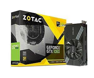 Placa de video Zotac GeForce GTX 1060 3GB Mini 192 Bits ZT-P10610A-10L