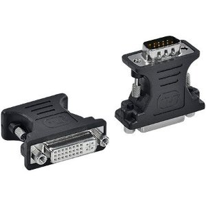 Adaptador DVI 24+5 F para VGA 15P ADVIIF-V