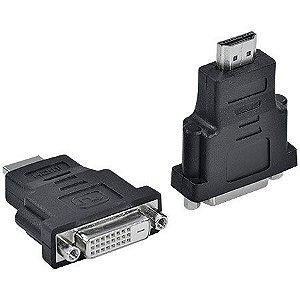 Adaptador DVI 24+1 FEMEA P/HDMI ADVIF-H