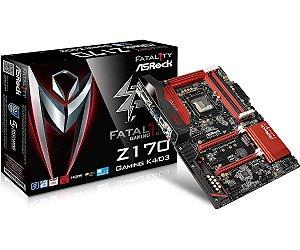 Placa Mae ASRock Fatal1ty Z170 Gaming K4 DDR4 LGA 1151 Intel Z170