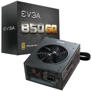 Fonte EVGA 850 850W GQ 80 Plus Gold Modular 210-GQ-0850-V1