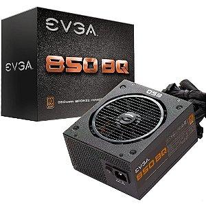Fonte de Alimentação EVGA 850W 80 Plus Bronze Semi Modular 110-BQ-0850-V0