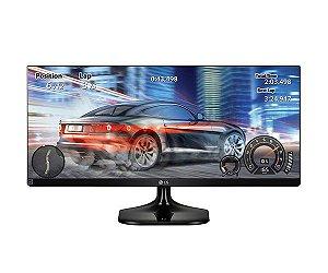 Monitor LG 25 Polegadas Full HD 2560 X 1080 21:9 Ultrawide 25UM58