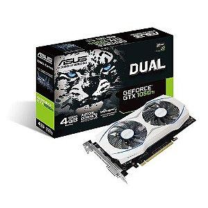 Placa de Video Geforce ASUS GTX 1050TI 4GB DUAL-GTX1050TI-4G