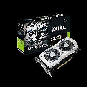 Placa de Video Geforce ASUS GTX 1050 2GB DUAL-GTX1050-2G