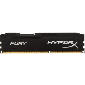 Memória HyperX FURY 4GB 1600Mhz DDR3 CL10 Black Series HX316C10FB/4