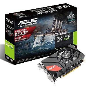 Placa de Vídeo VGA Asus GTX 950 2GB DDR5 MINI-GTX950-2G 90YV08U1-M0NA00