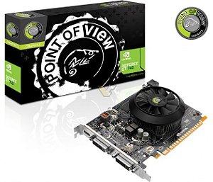 Placa De Vídeo Geforce Gt 740 2gb Ddr3 128bits Point Of View