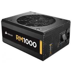 Fonte Corsair Rm1000 1000W Cabos Modular 80 Plus Gold Cp-9020062-ww
