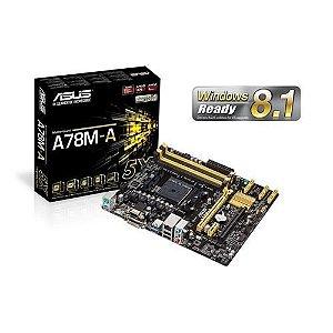 Placa-mãe Asus A78m-a Micro Atx P/ Amd Fm2+ C/ Sata 6gb