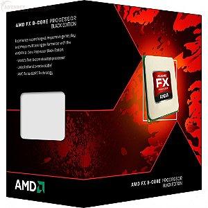 Processador AMD FX-8320 Vishera 3.5GHz AM3+ Eight-Core FD8320FRHKBOX