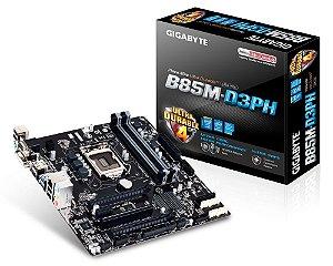 Placa mãe Gigabyte para  Intel GA-B85M-D3PH LGA 1150 Box