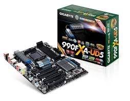 Placa-mãe GIGABYTE ATX p/ AMD AM3+ GA-990FXA-UD5 3 Way CrossFire / SLI USB 3.0