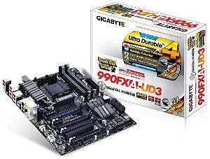 Placa mãe Gigabyte GA-990FXA-UD3 AM3+ 2 Way CrossFire / SLI USB 3.0