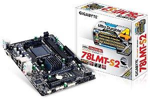 Placa mãe Gigabyte Micro ATX GA-78LMT-S2 AM3+ amd