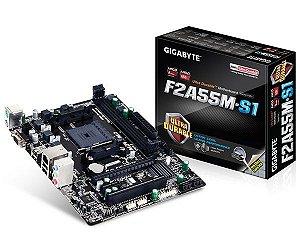 Placa Mãe Gigabyte GA-F2A55M-S1 AMD Fm2+ Chipset AMD A55