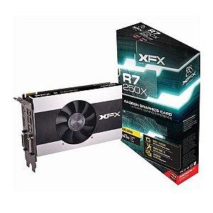Placa de Vídeo VGA XFX Radeon R7 250X 2GB DDR5 128 Bits R7-250X-CNJ4