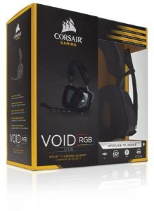 Headset Corsair CARBON Gaming Void RGB Dolby 7.1 USB Preto CA-9011130-NA