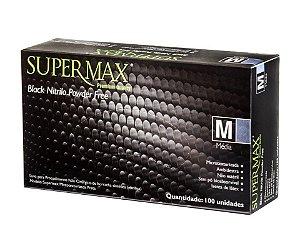 Luva de Procedimento não cirúrgico Black Nitrilo - Caixa com 1000 Unidades