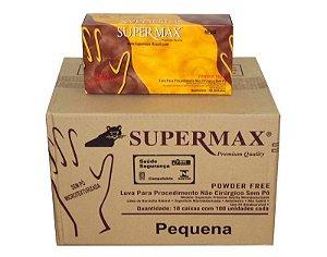 Luva de procedimento SuperMax Sem Talco  - Caixa com 1000 unidades