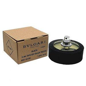 Tester Bvlgari Black Eau de Toilette Bvlgari - Perfume Unissex 75 ml